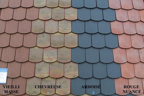 Dachówka ceramiczna ARBOISE Ecaille Jacob - Ekspozycja
