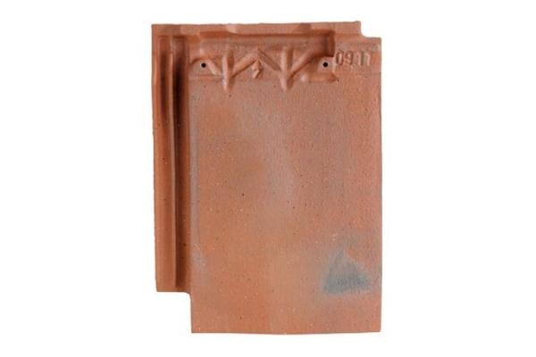 Dachowka ceramiczna ARBOISE RECTANGULAIRE - Rouge Ancien | Edilians-Zamarat